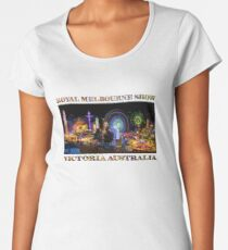 Fairground Attraction (poster on white) Women's Premium T-Shirt