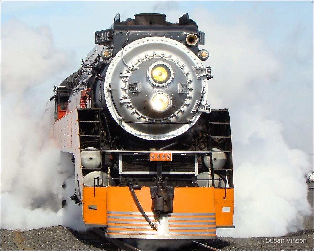 American Freedom Train Locomotive #4449 by Susan Vinson