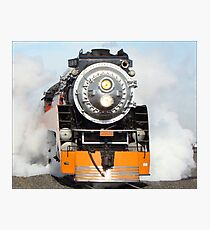 American Freedom Train Locomotive #4449 Photographic Print