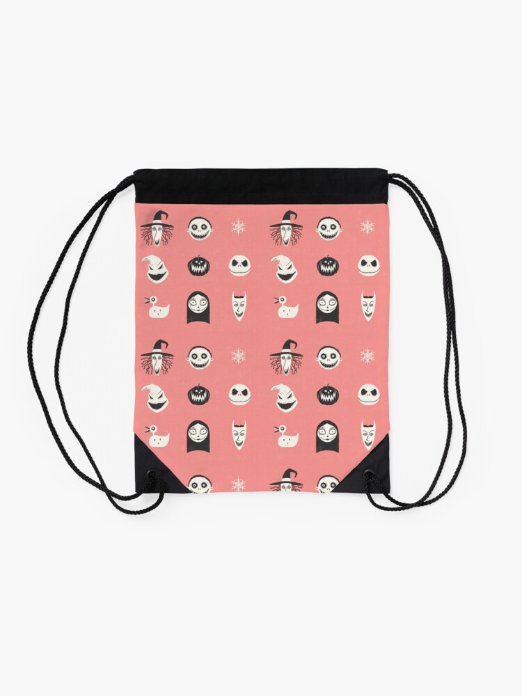 Alternate view of This is Halloween Drawstring Bag