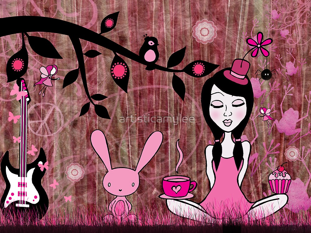 Pinky In Pinky Land by Amy-lee Foley