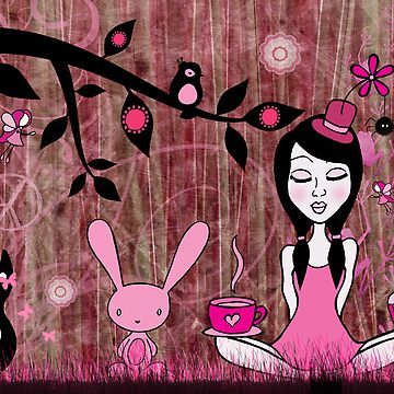 Pinky In Pinky Land by artisticamylee