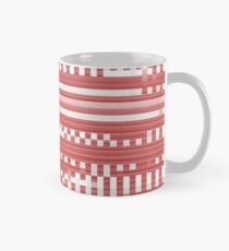 Bytes and pieces red Classic Mug