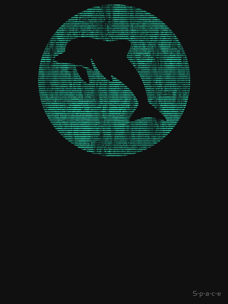 Dolphin silhouette by S-p-a-c-e