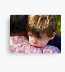 A shoulder to lean on.... Canvas Print