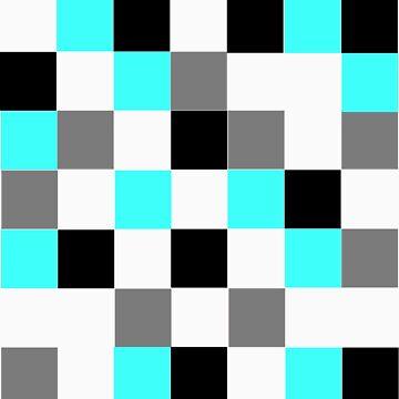 Blocks - Grey by LimeApparel