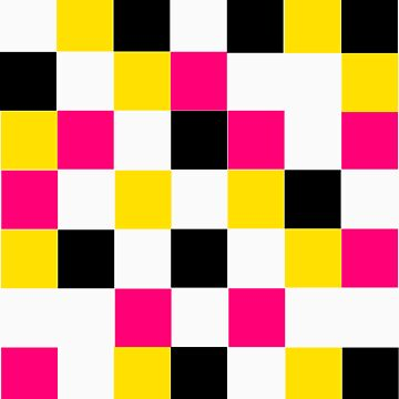 Blocks - Pink by LimeApparel