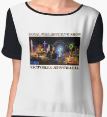 Fairground Attraction (poster on white) Chiffon Top