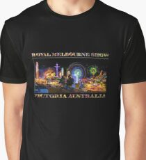 Fairground Attraction (poster on black) Graphic T-Shirt