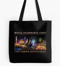 Fairground Attraction (poster on black) Tote Bag