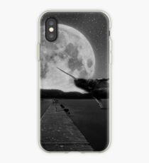 Narwal zum Mond iPhone-Hülle & Cover