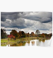 Lake Katherine Autumn Colors Poster
