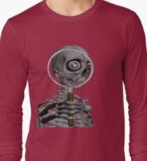 MAGNIFYING GLASS/ MESSAGE IN EYE Long Sleeve T-Shirt