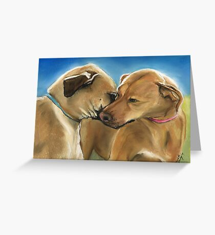 Mother and Son Reunion Greeting Card