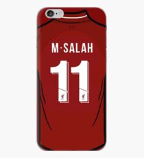 Vinilo o funda para iPhone Mo Salah Liverpool FC Camiseta