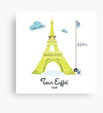 Tour Eiffel Impression sur toile