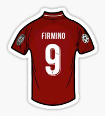 Roberto Firmino Liverpool FC Shirt Sticker