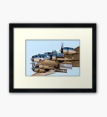 Fortress Bombing Run Framed Print