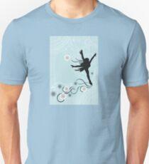 ice skater  Unisex T-Shirt