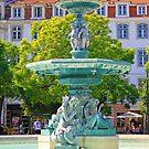 Lisbon. Rossio square.  by terezadelpilar ~ art & architecture