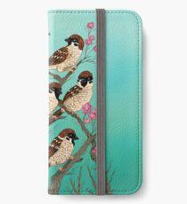 Sakura Sparrows iPhone Wallet/Case/Skin