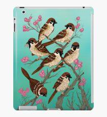 Sakura Sparrows iPad Case/Skin