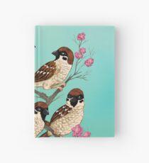 Sakura Sparrows Hardcover Journal