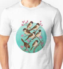 Sakura Sparrows Unisex T-Shirt