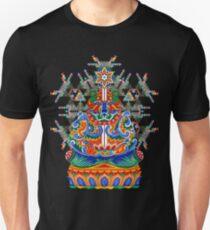 Meditating bear Unisex T-Shirt