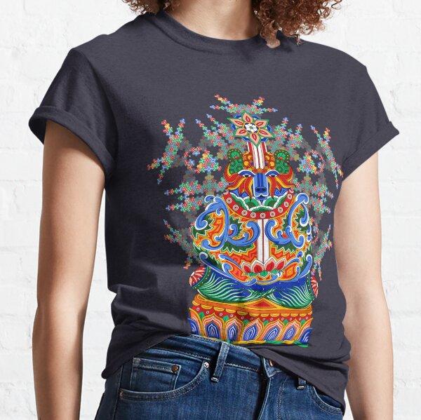 Meditating bear Classic T-Shirt