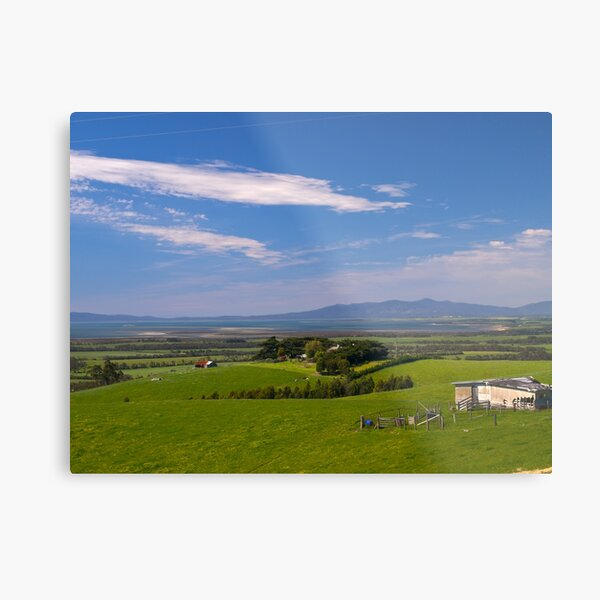 Wilsons Promontory from Foster, Victoria. Metal Print