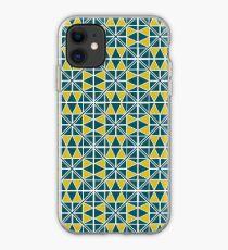 Emerald Glow Pattern iPhone Case