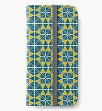 Emerald Glow Pattern iPhone Wallet/Case/Skin
