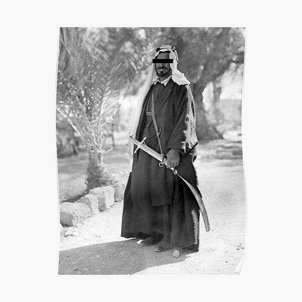 Arab Bedouin Poster