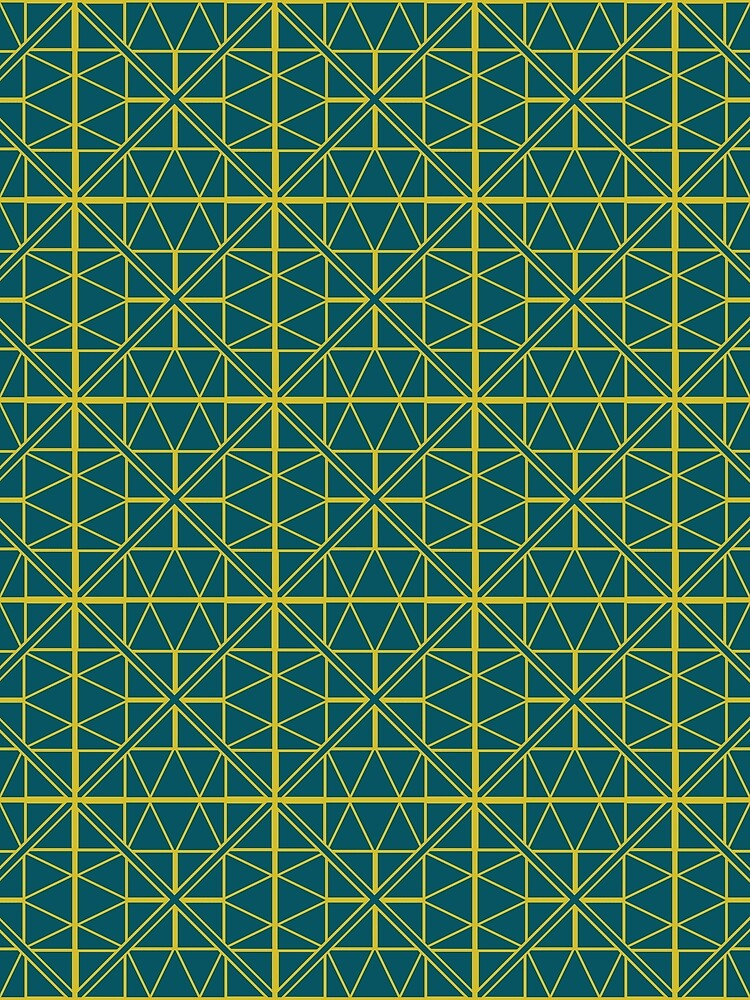 Green Triangle Pattern by GillianAdams