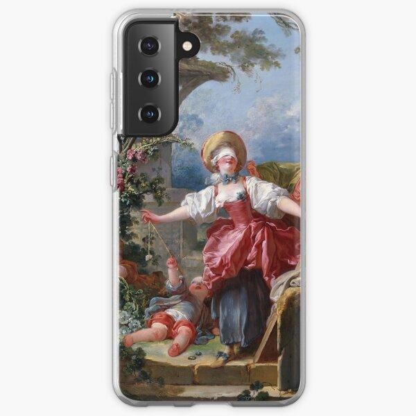 Blind-Man's Buff - Jean-Honoré Fragonard Samsung Galaxy Soft Case