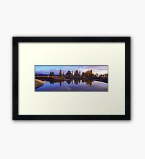Te Anau morning Framed Print