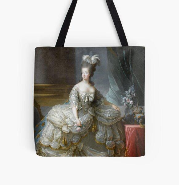 Marie-Antoinette reine de France - Anonyme, d'après Louise-Elisabeth Vigée Le Brun  All Over Print Tote Bag