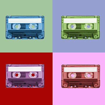 80's Magnetic Tape Cassettes by markstones