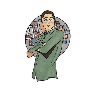 Stiles Stilinski, TeenWolf, Detective by DMJADESIGN