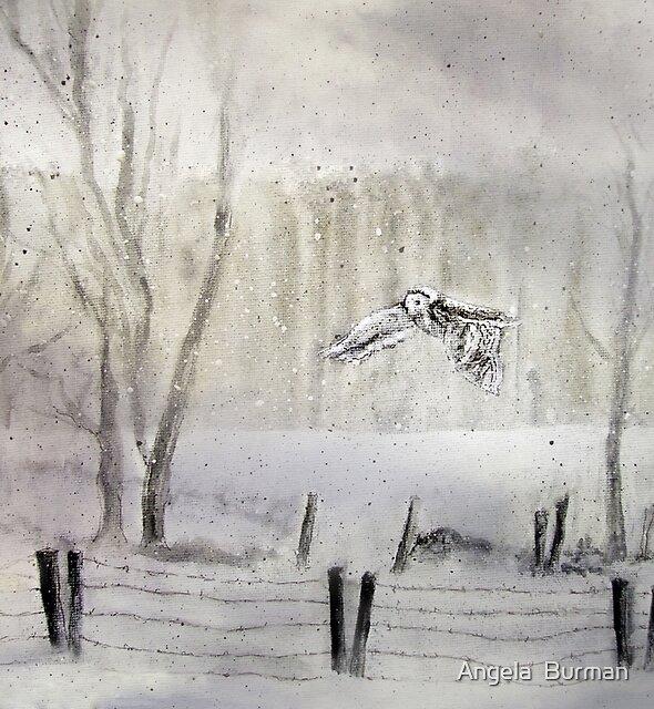 I'm Late, I'm Late by Angela  Burman
