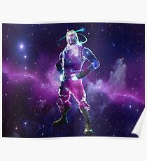 Fortnite Galaxy Skin Poster