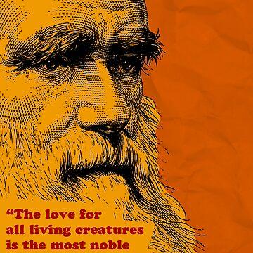 Charles Darwin Quote 5 by pahleeloola