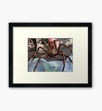 Watching You! Framed Print