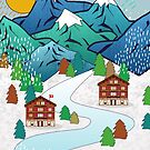 Schweizer Winter von Kakel