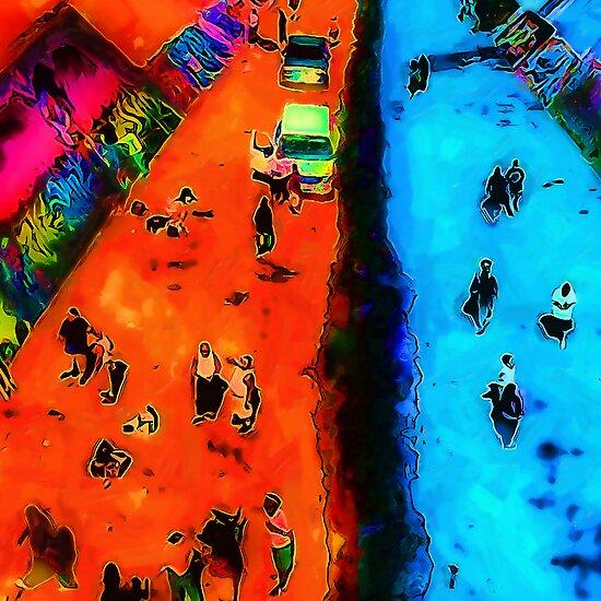 Frog Town Art Walk by David Rozansky