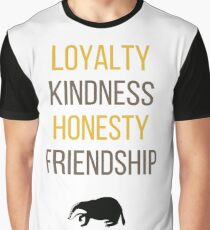 Yellow words Graphic T-Shirt