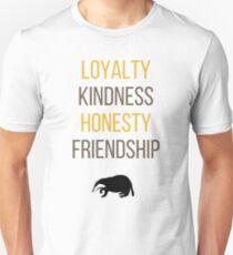 Yellow words Unisex T-Shirt