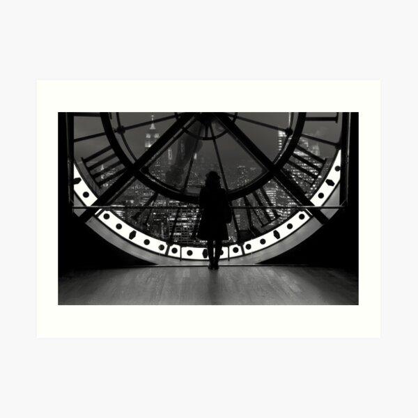 Paris New York ;-) Art Print