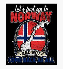 Norway travel Photographic Print